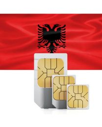 Data SIM card for Albania