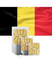 SIM card for use in Belgium
