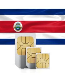 SIM card for Costa Rica  with fast mobile Internet & calls