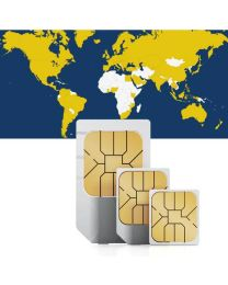 Global data sim card for global use in 98 countries