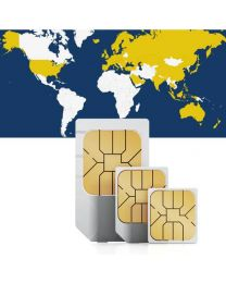 Global data sim card for global use in 67 countries
