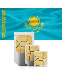 SIM card for Kazakhstan with fast mobile Internet & calls