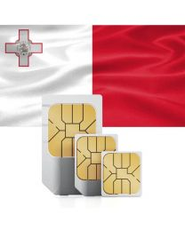SIM card for Malta with fast mobile Internet & calls