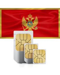 SIM card for Montenegro with fast mobile Internet & calls.
