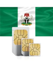Nigerian flag data sim card for Nigerian