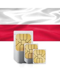 SIM card for Poland with fast mobile Internet & calls