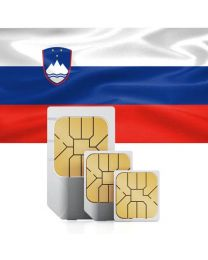 SIM card for Slovenia with fast mobile Internet & calls