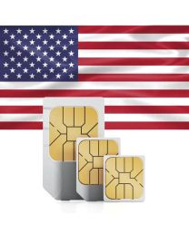 SIM card for USA and Puerto Rico with fast mobile Internet & calls