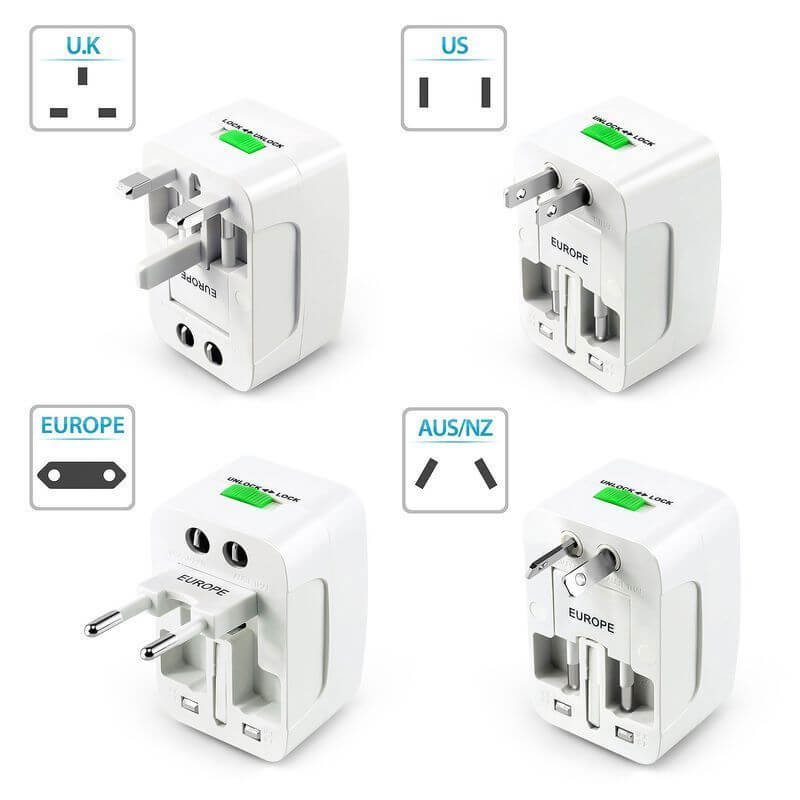 Travel Adapter 4 variables