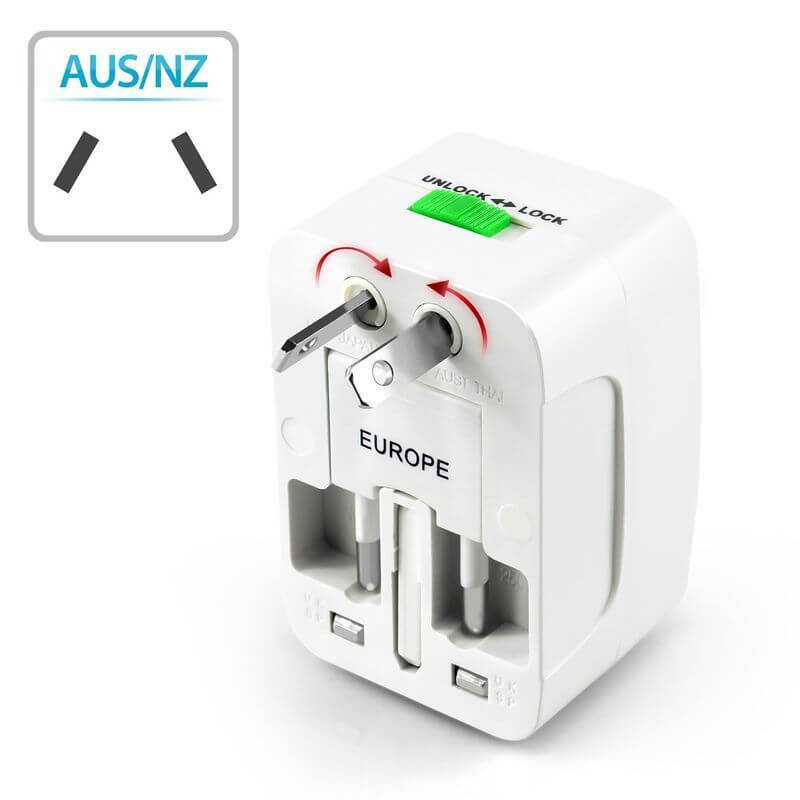 Travel Adapter Australia & New Zealand