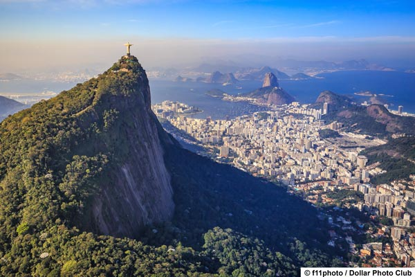 Discover Rio de Janeiro with his beautiful beaches like Ipanema and Copacabana or the Sugarloaf Mountain with giant statue of Christ the Redeemer