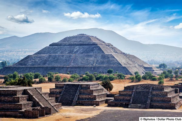 Mexico offers many attractions from his own history